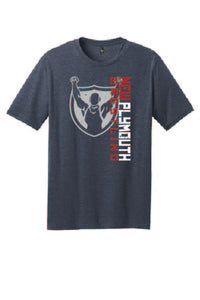Blended soft t-shirt (heathered navy)