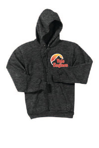 Vale Engines - Port & Company® Essential Fleece Pullover Hooded Sweatshirt; Dark Heather Grey
