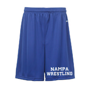 Badger sport 7 inch shorts
