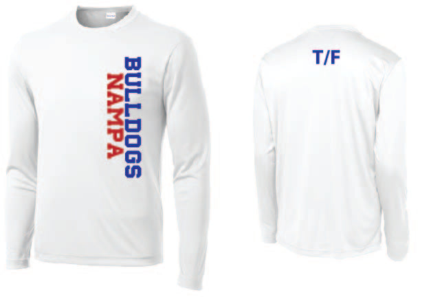 Sport-tek 100% Poly Long Sleeve T-shirt