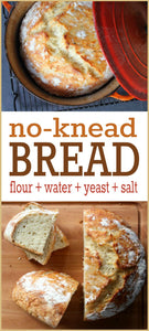 Amazing No-Knead Bread: Step-by-step recipe