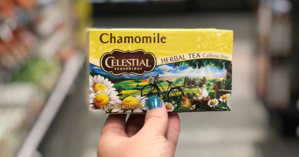 Celestial Seasonings Tea Boxes Only 49¢ at Target After Cash Back