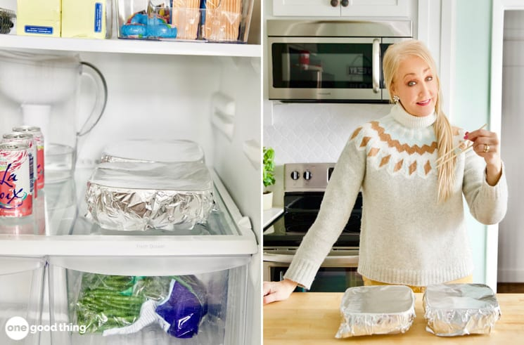This Astoundingly Simple Hack Will Double Your Fridge Space