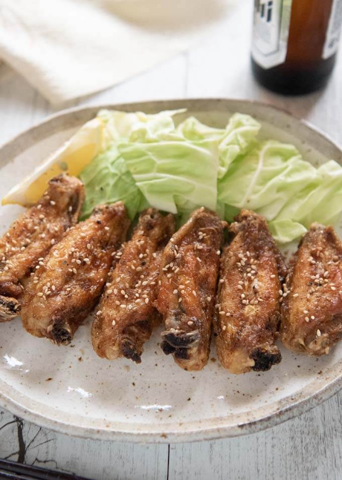 Nagoya is famous for quite a few foods and Nagoya-style Fried Chicken Wings is one of them