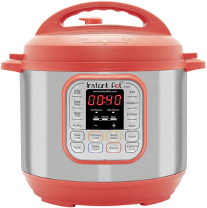 Instant Pot Duo 7-in-1 Electric Pressure Cooker, Slow Cooker, Rice Cooker, Steamer, Saute, Yogurt Maker, and Warmer|6 Quart|Red|11 One-Touch Programs $64.99