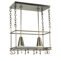 "26""L Spartan Pot Rack Model 123933"