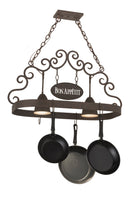 "34""L Bon Appetit 2 LT Pot Rack Model 166218"