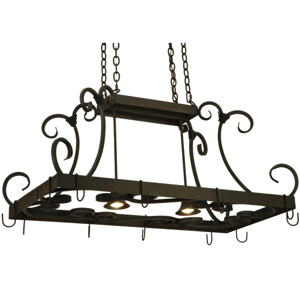 "42.5""L Caiden Pot Rack Model 134575"