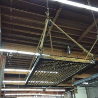 Industrial Pot Rack