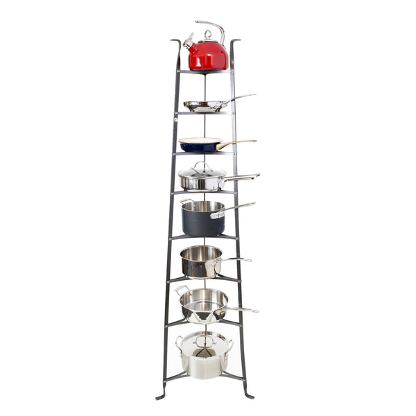 8-Tier Gourmet Cookware Stand - Enclume Design Products