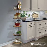 5-Tier Round Designer Stand (Unassembled) - Enclume Design Products
