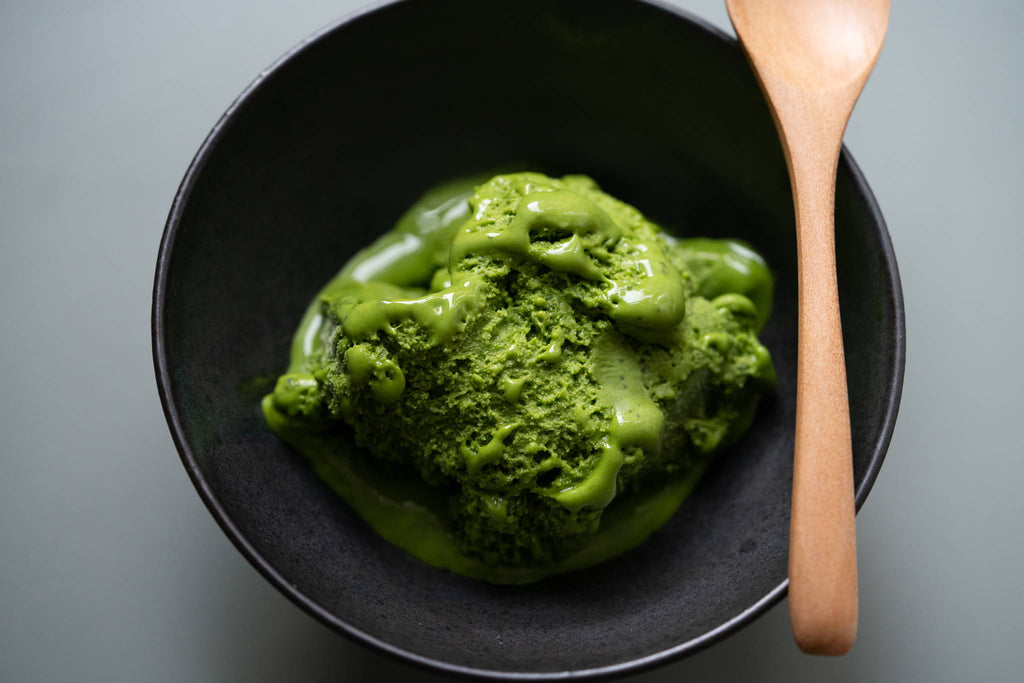 Super Easy, Super Delicious Matcha Green Tea Ice Cream in 5 steps