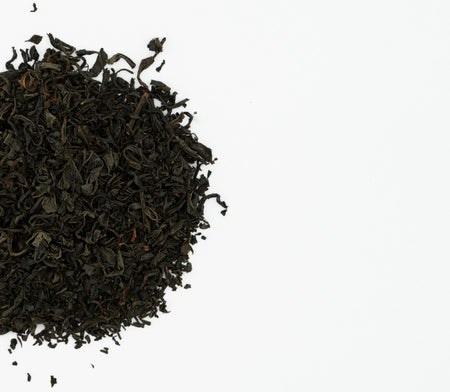 Japanese black tea leaves