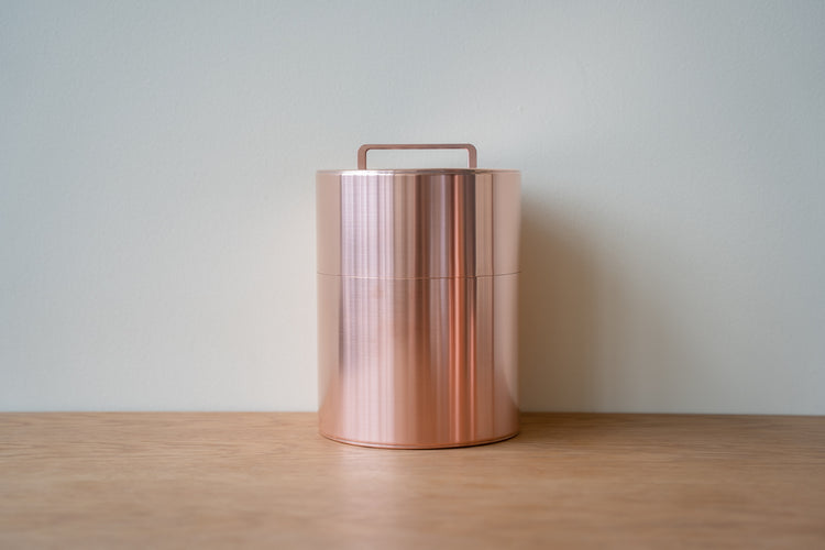 Kaikado 1kg Copper Caddy With Handle