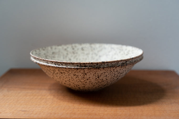 Speckled Double Lip Summer Chawan
