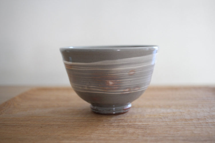 Hakeme Tea Bowl front view