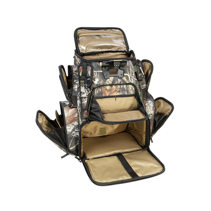 Wild River NOMAD Mossy Oak Tackle Tek Lighted Backpack w-o Trays [WCN604] Wild River 084298536045 Payson Marine