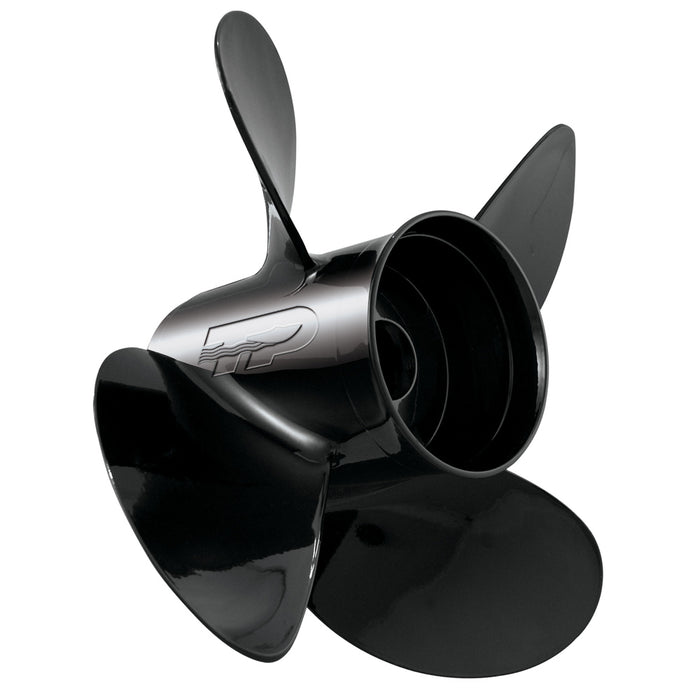 Turning Point LE1-LE2-1319-4 Hustler Aluminum - Right-Hand Propeller - 13 X 19 - 4-Blade [21431930] Turning Point Propellers 652480102523 Payson Marine
