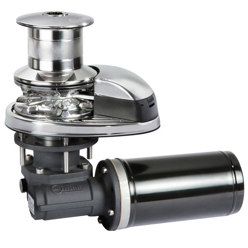 "Quick Prince DP2 712D Windlass w-Drum 700W - 12V - 7mm or 1-4"" Gypsy [FSDP20712D07C01] Quick 8057090065299 Payson Marine"