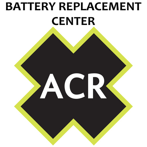 ACR FBRS 2880 & 2881 Battery Replacement Service - PLB-375 ResQLink-ResQLink+ [2880.91] ACR Electronics Payson Marine