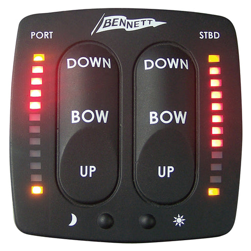 Bennett Electronic Indication Control Display [EIC001] Bennett Trim Tabs Payson Marine