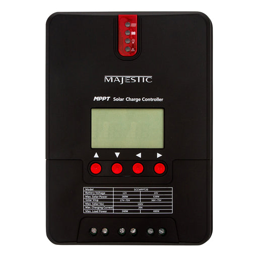 Majestic MPPT Solar Charge Controller - 20 Amp [SCCMPPT20] Majestic Global USA 854273002847 Payson Marine