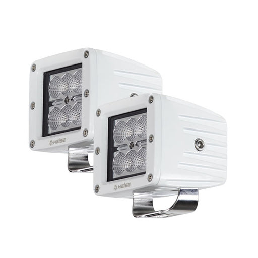 "HEISE 6 LED Marine Cube Light w-Harness - 3"" - 2 Pack [HE-MCL32PK] HEISE LED Lighting Systems 086429313341 Payson Marine"