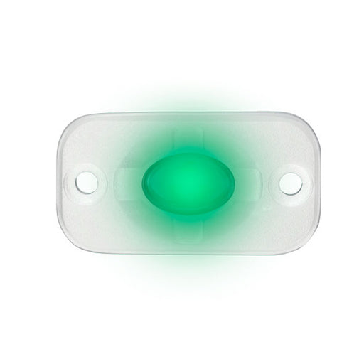 "HEISE Marine Auxiliary Accent Lighting Pod - 1.5"" x 3"" - White-Green [HE-ML1G] HEISE LED Lighting Systems Payson Marine"