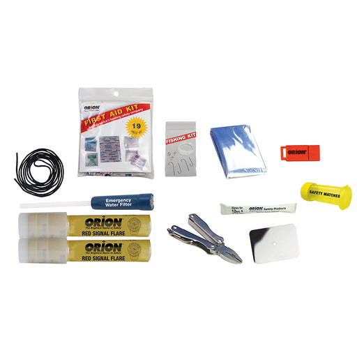 Orion Wilderness Backwoods Survival Kit [772] Orion 077403107728 Payson Marine
