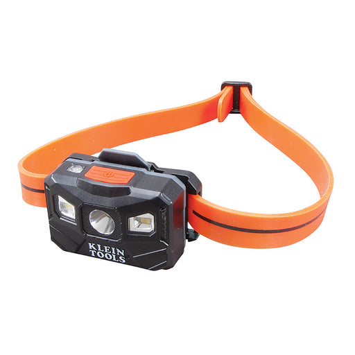Klein Tools Rechargeable Auto-Off Headlamp w-USB - Black-Orange [56034] Klein Tools 092644560347 Payson Marine