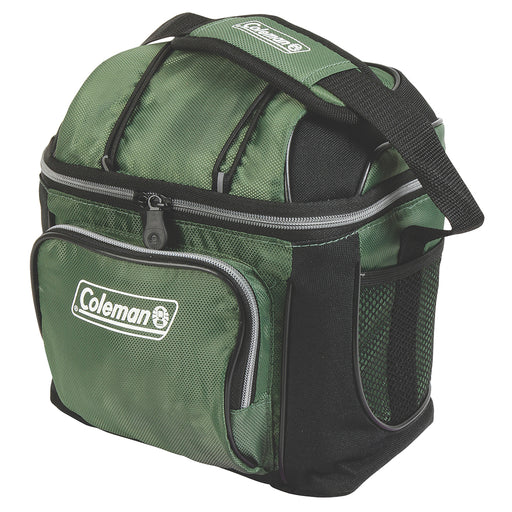 Coleman 9 Can Cooler - Green [3000001318] Coleman 076501084184 Payson Marine