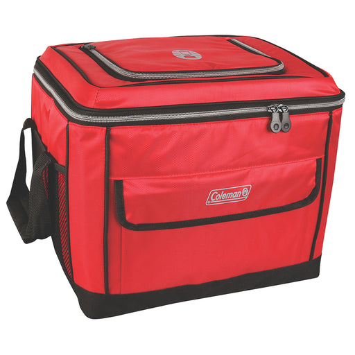 Coleman 40 Can Collapsible Cooler - Red [2000013739] Coleman 076501383294 Payson Marine