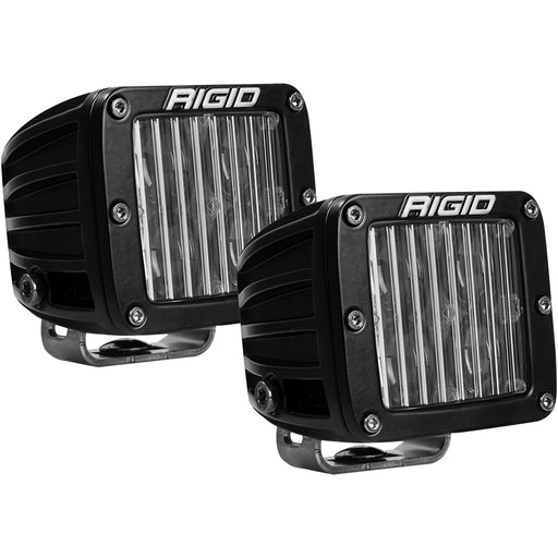 RIGID Industries D-Series SAE Fog Light Black - Pair [504813] RIGID Industries 849774024665 Payson Marine