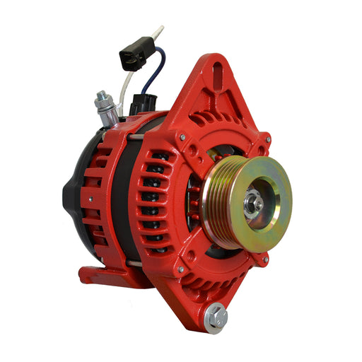 "Balmar Alternator 1-2"" Single Foot K6 Serpentine Pulley - 170A - 12V [XT-SF-170-K6] Balmar 676205500852 Payson Marine"