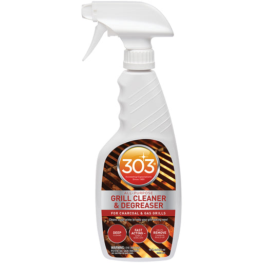 303 All-Purpose Grill Cleaner Degreaser w-Trigger Sprayer - 16oz [30221] 303 082043302211 Payson Marine