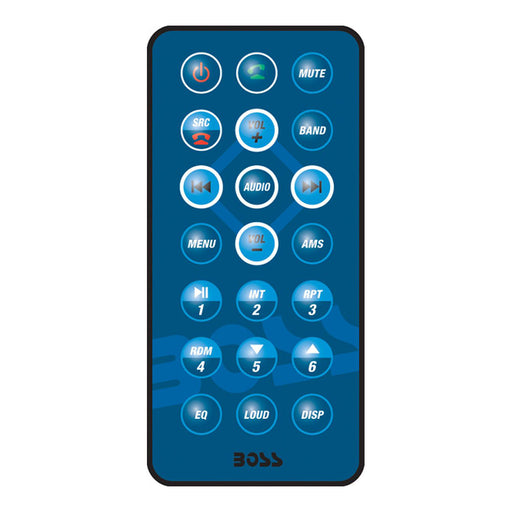 Boss Audio Remote Control f-MR1308UAB Bluetooth Stereos [MR1308UAB-RCU] Boss Audio Payson Marine