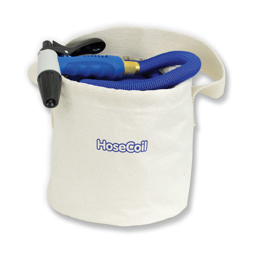 HoseCoil Canvas Bucket f-75 Expandable Hose Kit [HB150] HoseCoil 659988121056 Payson Marine
