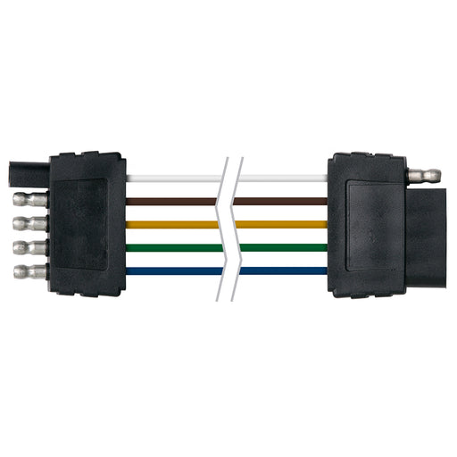"Ancor Trailer Connector-Flat 5-Wire 48"" Loop [249108] Ancor 091887989328 Payson Marine"