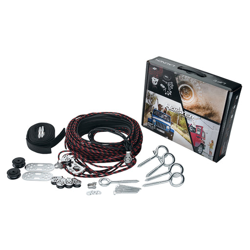 Harken Hoister JEEP Hard Top 4 Point Lift System 45 - 145lb-10 [7803.JEEP]