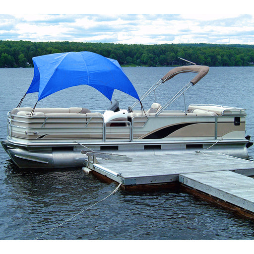 Taylor Made Pontoon Easy-Up Shade Top - Pacific Blue [12003OB]