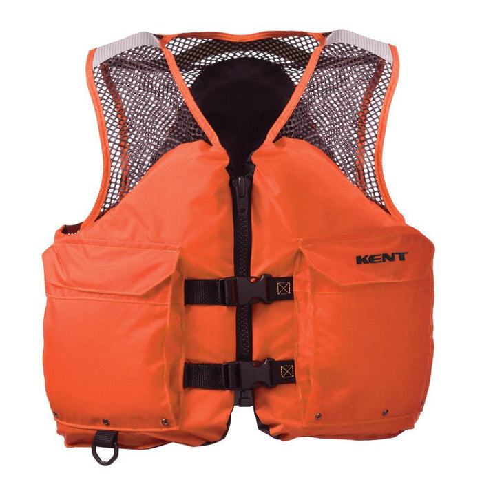 Kent Mesh Deluxe Commercial Vest - Small [150800-200-020-12] Kent Sporting Goods 043311006644 Payson Marine