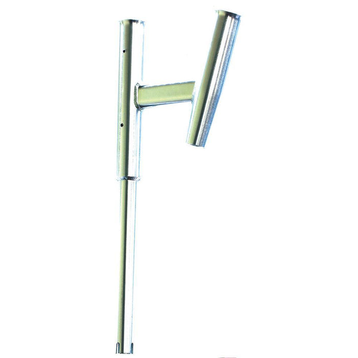 Tigress Dual Aluminum Kite Rod Holder - Straight Butt [88154] Tigress 661033881549 Payson Marine