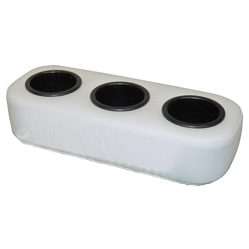 Taylor Made Cushion Buddy Portable 3-Cup Drink Holder - White [90242] Taylor Made 040011666901 Payson Marine