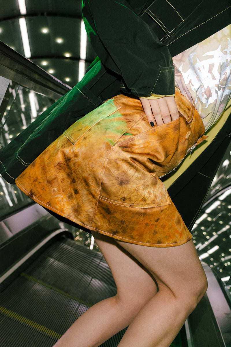 GOLDEN BATIK SKIRT