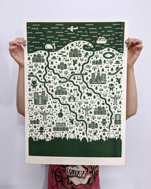 Jan Kallwejt - Polska SCREEN PRINT