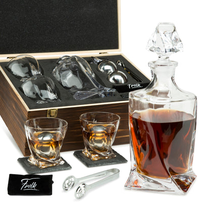 Whiskey Chillers & Decanter Sets