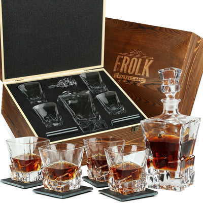 Whiskey Glasses & Decanter Sets