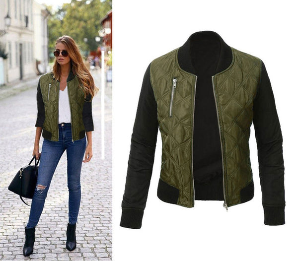 Winter autumn Lady's fashion female jacket