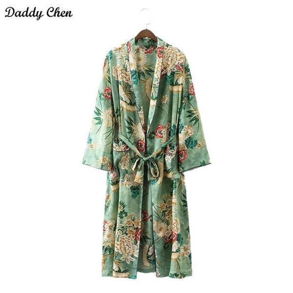 Women robe Floral Blouse