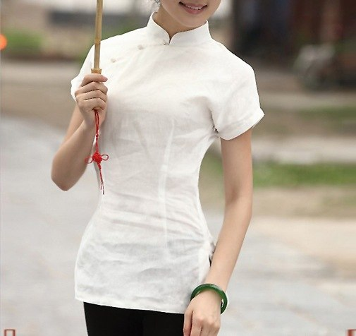 woman's Short Sleeve traditional tops
